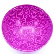 Tabaka Chigware Handmade Soapstone Fuchsia Pink Star Design Trinket Bowl Kenya image 5