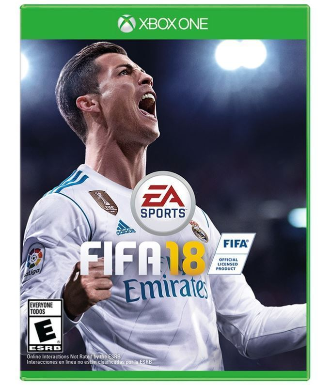 XBOX ONE FIFA 18  BRAND NEW SOCCER VIDEO GAME - FREE 1ST CLASS SHIPPING - $20.99