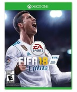 XBOX ONE FIFA 18  BRAND NEW SOCCER VIDEO GAME - FREE 1ST CLASS SHIPPING - $21.20