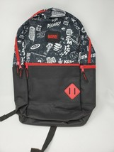 Bioworld Marvel Half Print Bookbag Backpack NWT - $26.95