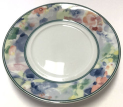 """Mikasa Garden Flair Saucer Plate 6"""" M5003 Multi Color Floral Pattern - $4.94"""