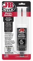 J-B Weld Plastic Bonder Body Panel Adhesive Gap Filler Syringe Dries Bla... - $7.99