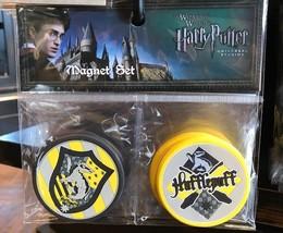 Universal Studios Wizarding World Harry Potter Hufflepuff Magnet Set New - $24.26