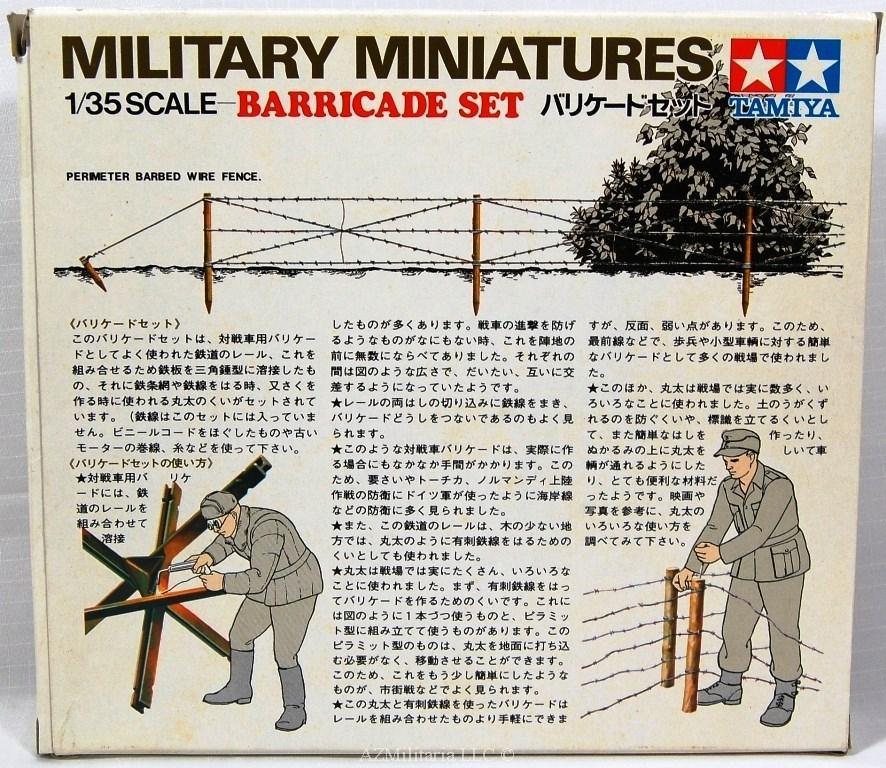 1/35 Barricade Set Kit No 3527