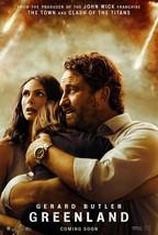 Greenland Poster Ric Roman Waugh Gerard Butler Movie Art Film Print 24x3... - $10.90+