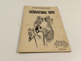 1952 Chrysler Corporation Service Reference Book V5 No4  Servicing Tips - $14.99
