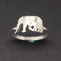 Mother and Baby Elephant Ring - $50.00