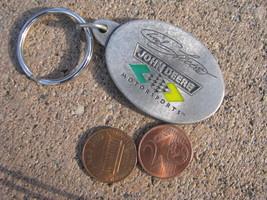VTG Keychain Keyring FOB Pewter Licensed Chad Little Nascar John Deere M... - $29.68
