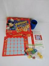 Vintage Mickey's Stuff Yahtzee Game for Kids, 1994, Junior, Jr, Disney, ... - $10.39