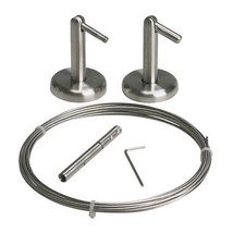 Ikea - Dignitet Curtain Wire, Stainless Steel - $17.99