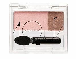 4589931910122 Aqua Aqua Organic duo shadow 02 Peach Brown - €23,24 EUR