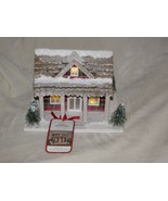 Hallmark Christmas In Evergreen House Decoration From Movie Plaid Lights... - $79.19