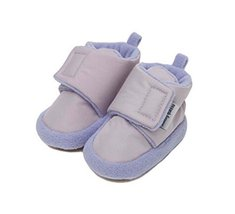 2 Pairs of Comfortable Shoes Cotton Shoes Toddler Shoes for Newborn PURPLE