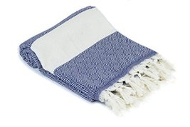 Premium Turkish Peshtemal 100% Cotton; Fouta Towel that is Absorbent, Quick Dryi - $14.74