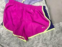 NIKE TANK TOP + TEMPO RUNNING SHORTS + CAPRI LEGGINGS OUTFIT LOT GIRL'S M image 2