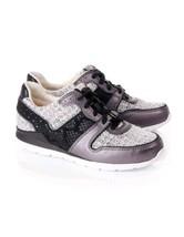 UGG  ugg deaven trainers sneaker black/gray 100% wool sz 8.5 - $66.49