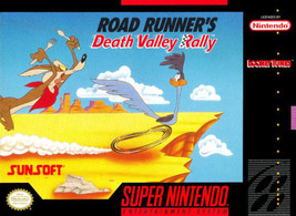 Road Runner Death Valley Rally SNES Great Condition Fast Shipping - $8.94