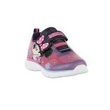Toddler Child Girls Light Up Disney Minnie Mouse Sneakers Size  9 11 or 12 - $18.99