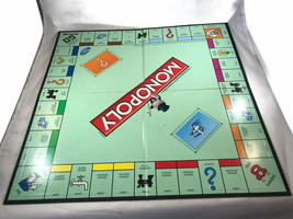 2013 Hasbro Games Monopoly Board and Pieces. No box. - $23.91