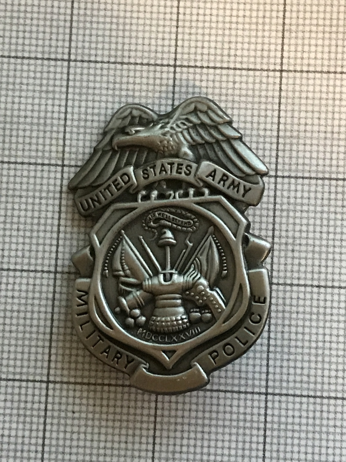 Primary image for U. S. Army Military Police Badge