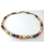 "Honora 18"" Multicolor Baroque Pearl Necklace, 7mm to 10mm - $37.99"