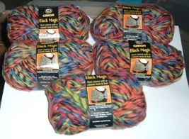 Caron Black Magic Yarn-DISCONTINUED-5 skeins of Allspice - $50.00