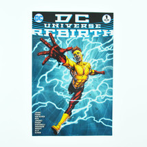 DC Universe: Rebirth #1 (August 2016, DC) Kid Flash 3rd Varient - VF+ - $3.99