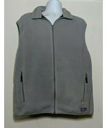 Patagonia Synchilla Vest Soft Polyester Fleece Mens Size XL Light Gray 9... - $34.64