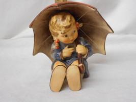 "Hummel 152/0 B ""Umbrella Girl"" TMK-5 Figurine 1957 By Goebel Artist Signed - $440.55"