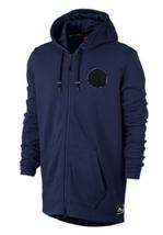 Nike Men's Air Zip Hoodie , 830662, Size M, Blue, MSRP $110 - $59.39