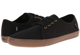 Vans Authentic Costa Mesa Black Gum Mens 7 Women's 8.5 Shoes Skate New Nib - $42.03