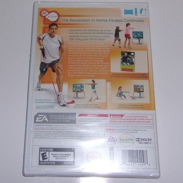 Active More Workouts For the Wii 2009