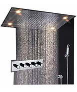 Cascada Classic Design 23 x 31 Inch large rain shower set with recessed ... - $2,573.95