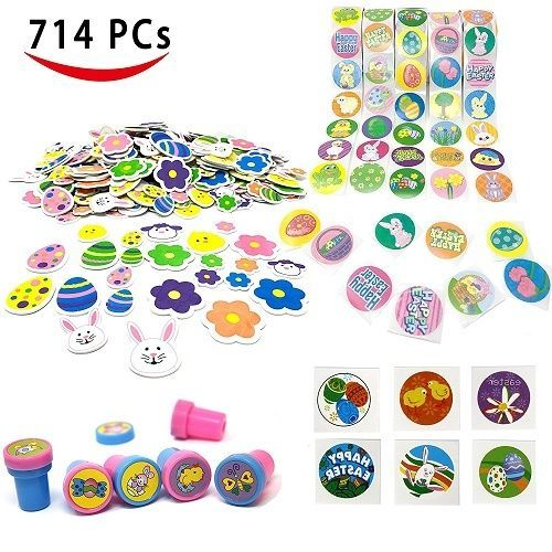 EASTER-EGG-FILLER-ASSORTED-STICKERS-TATTOOS-STAMPS-BASKET-KIDS-BULK-PACK-HUNT