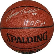 Dominique Wilkins signed Indoor/Outdoor TB Basketball HOF 06 (Atlanta Ha... - $94.95
