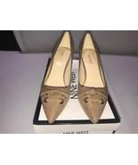 Nine West Dressy heels Malino Brown Suede size 5.5M - $34.65