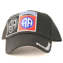 US Army 82nd Airborne on a new black ball cap w/tags - $20.00