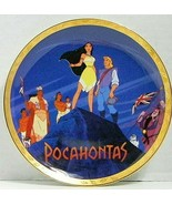 The Disney Store: Pocahontas Commemorative Plate 1995 In Box 8 Inch - $21.49