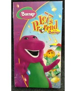VHS Barney - Lets Pretend With Barney (VHS, 2006) - NEW - $29.99