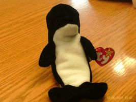 1st Edition Ty Beanie Babies Waves image 4