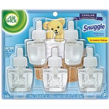 Air Wick Scented Oil Refill, Snuggle Fresh Linen, 5 refills Pack of 6