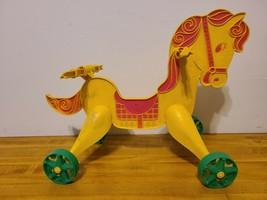 Vintage 1967 Mattel Tippe Toes Doll Plastic Horse - $13.85