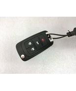 GM 2010+ OEM keyless entry flip fob +key. Door lock, unlock hatch 4 button - $18.99