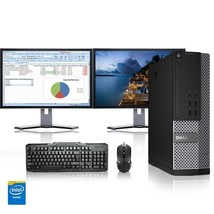 Dell Computer 3.1 G Hz Pc 8GB Ram 160 Gb Hdd Windows 10 - $346.32
