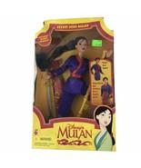 Disney 1997 Secret Hero Mulan Doll Vintage Princess Doll China Animated ... - $37.23