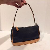 COACH 524-7594 Handbag Small Denim & Leather  - $28.01