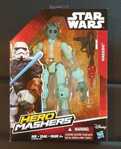 "STAR WARS GREEDO 6"" ACTION FIGURE DOLL HERO MASHERS HASBRO - $8.99"