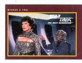 Star Trek The Next Generation card #222 Menage a Troi Lwaxana Majel Barrett Fere - $3.00