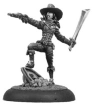 Bombshell 32mm Scale Miniatures: Mira the Inquisitor by Bombshell Miniatures