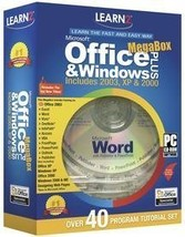 Learn2 Office Plus Megabox Intermediate/Advanced [CD-ROM] Windows 98 / W... - $27.80